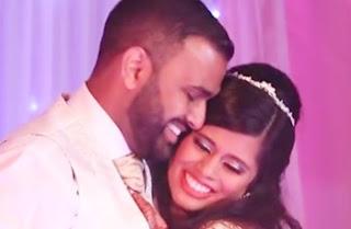 Prashanna & Dukshini Wedding Reception Dance