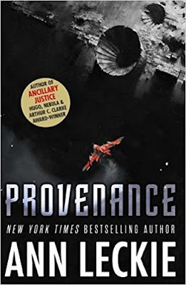 Provenance by Ann Leckie (book cover)