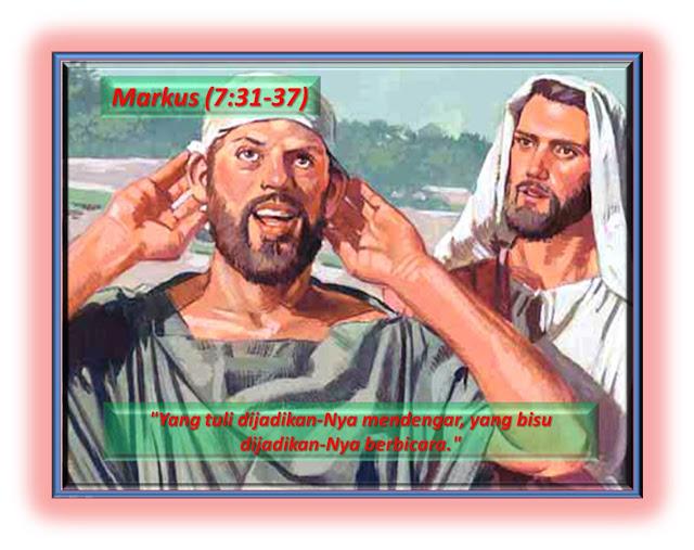 Markus 7:31-37