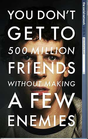 The Social Network 2010 Dual Audio Hindi Tamil ENG BDRip 720p