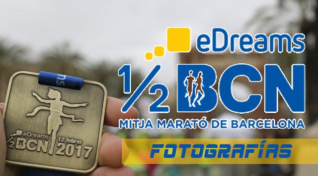 Fotografías eDreams Mitja Marató de Barcelona 2017