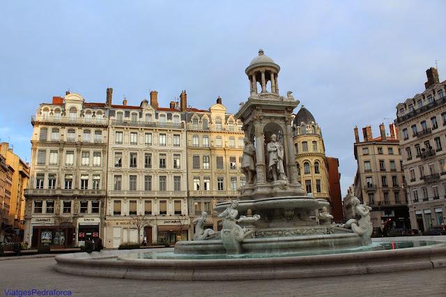 Place des Jacobins, Presqu'ile, Lyon, Lió, Rhône, Rhône-Alpes, França, France