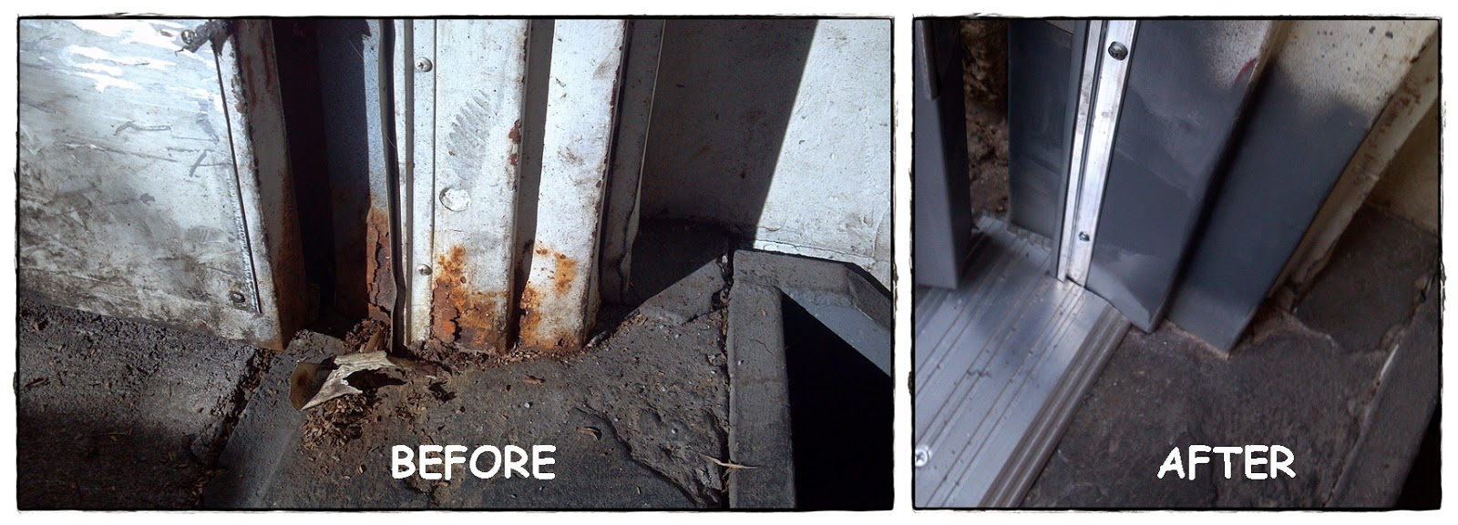 Throwback Thursday:Repair It! Hollow Metal Frame Repairs by House of ...