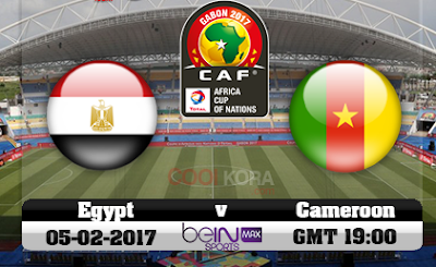يلا شوت بث مباشر مشاهدة مباراة مصر والكاميرون اليوم . النهائي