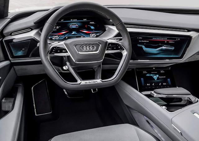 Novo Audi E-Tron concept - interior