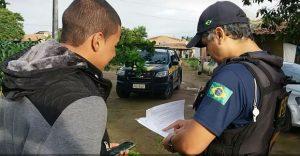 Polícia Rodoviária Federal cumpre mandado contra administrador de Grupo de Whatsapp que divulgava locais onde ocorriam blitz