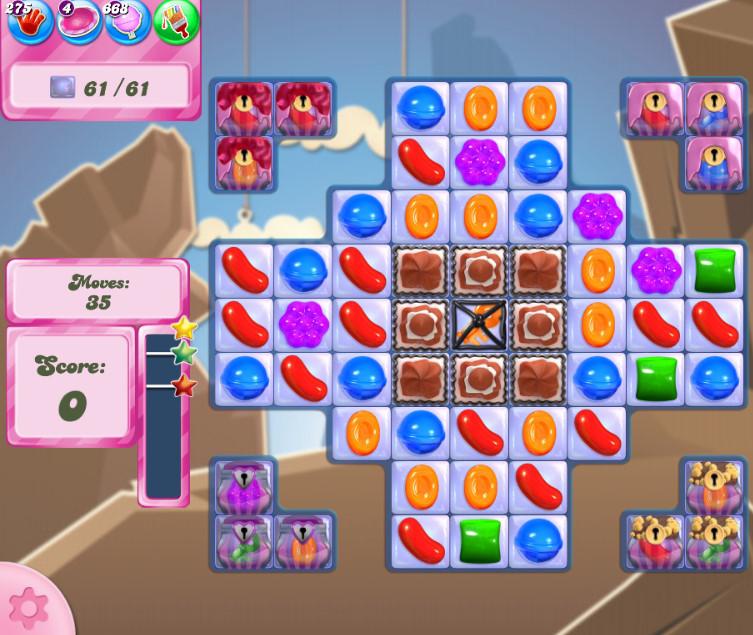 Candy Crush Saga level 2711
