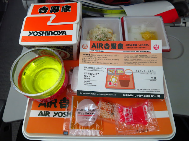 Best Tokyo Gyudon Beef Bowl; Yoshinoya; Japan Airline; Air; Flight meal; Tokyo Consult. TokyoConsult