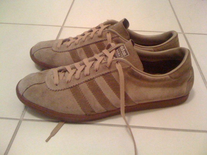 co2styles: VINTAGE ADIDAS RIVIERA MADE IN FRANCE SIZE 10