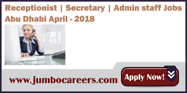 Receptionist-Secretary-Admin-staff