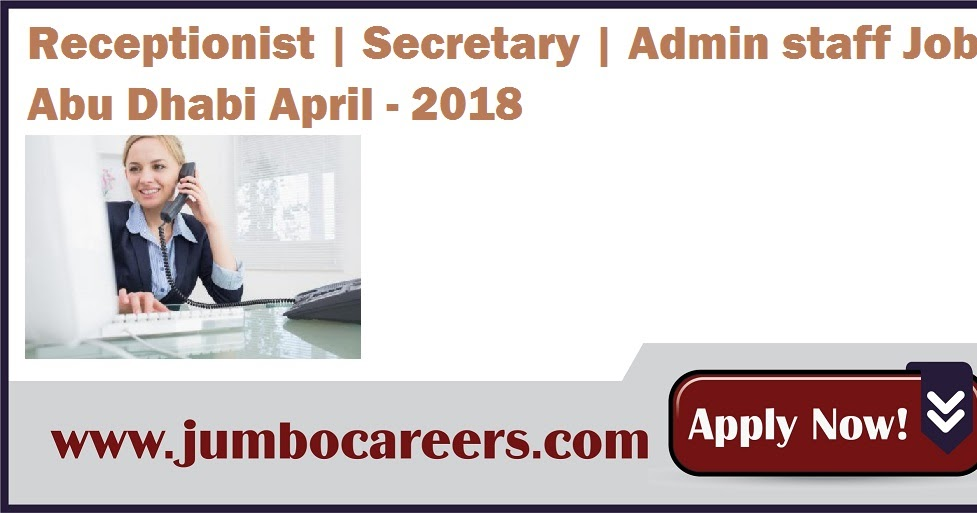 Receptionist Secretary Admin Staff Vaccines For Abu