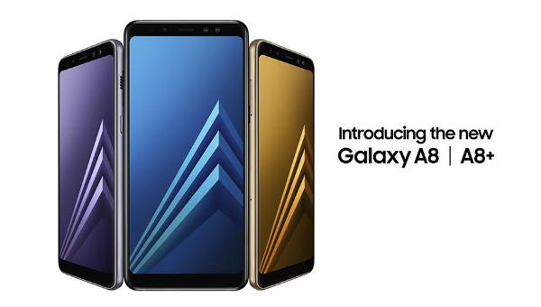 سامسونغ تطلق هاتفي غالاكسي A8 وغالاكسي +A8