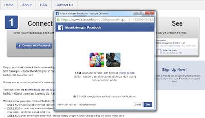 Tutorial Cara Mengucapkan Selamat Ulang Tahun Otomatis di Facebook