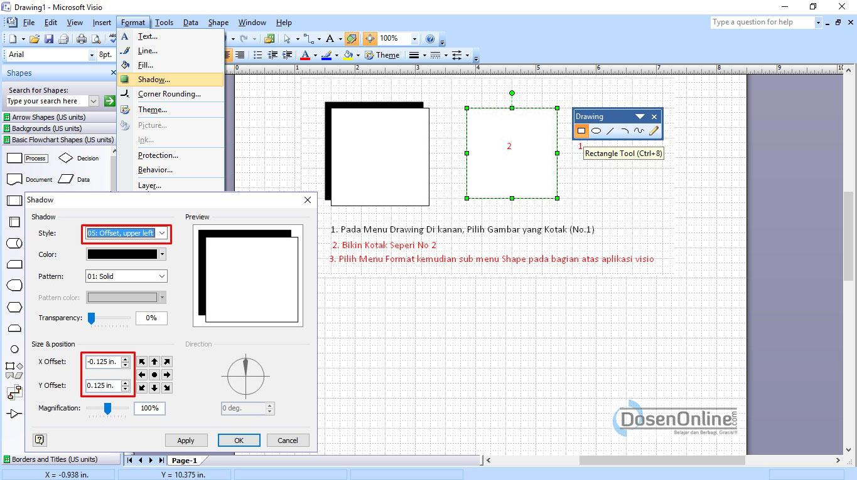 Cara mudah membuat dad atau dfd dengan visio 2007 belajar dan cara mudah membuat dad atau dfd dengan visio 2007 ccuart Choice Image