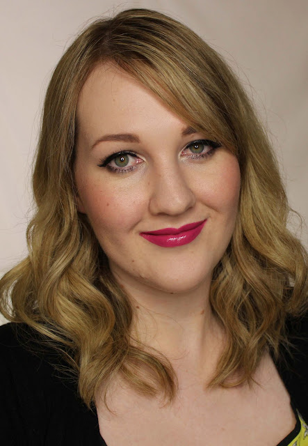 Elizabeth Arden Ceramide Ultra Lipstick - Violetini Swatches & Review