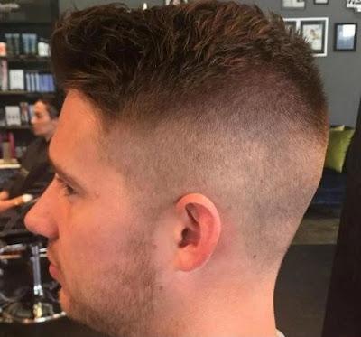 foto rambut pendek pria terbaru bross