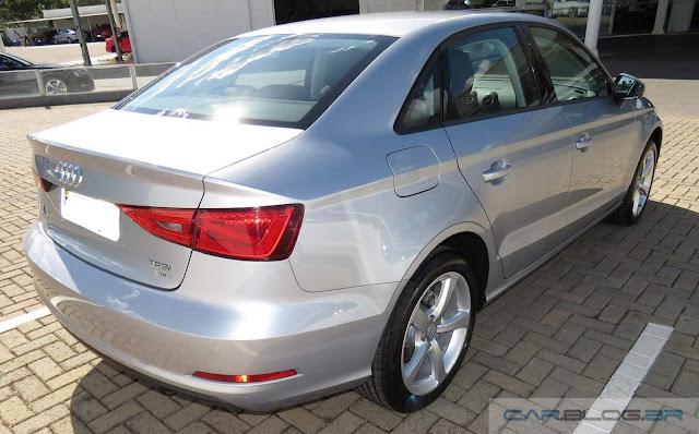 Novo Audi A3 Sedan 1.4 Flex - traseira