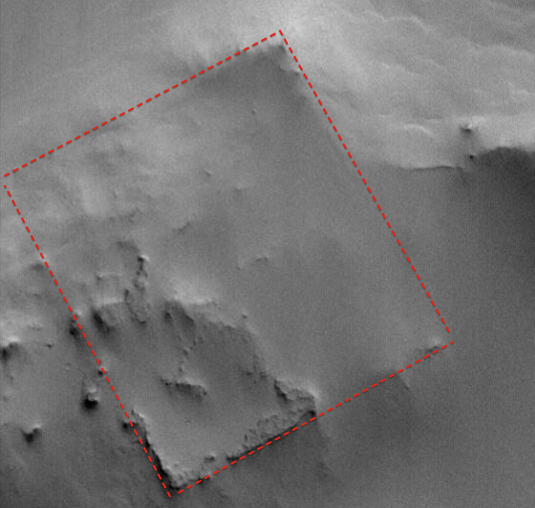 Giant Structure Found On Mars, Nov 18, 2014, UFO Sighting News.