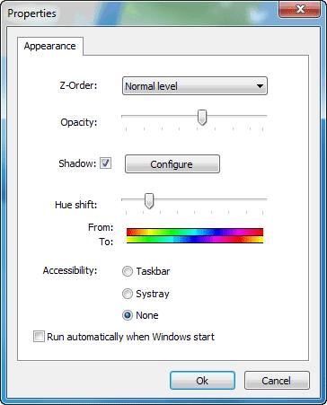 Windows Customs: Taskbar Drop Shadow