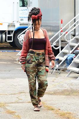 Ocean's 8 Rihanna Set Photo 1
