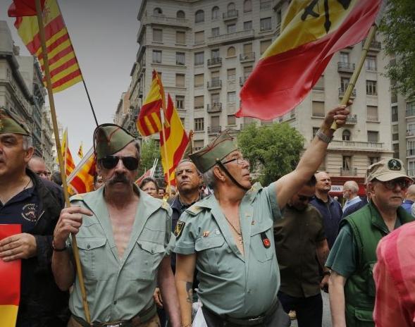 Viejos franquistas y nazis españoles