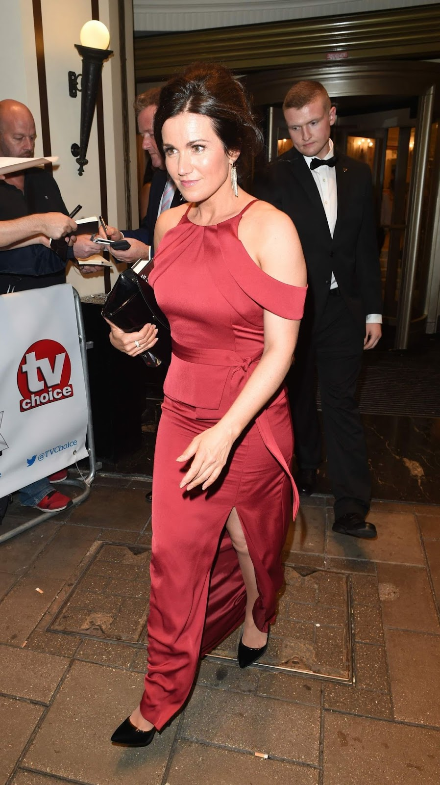 HQ Photos of 'BBC Breakfast' presenter Susanna Reid at TV Choice Awards in London