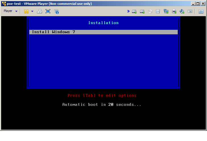Install Windows Over Pxe Boot Iso