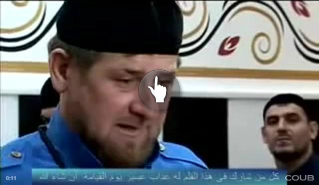Реакция Кадырова на повал Ленина в Харькове