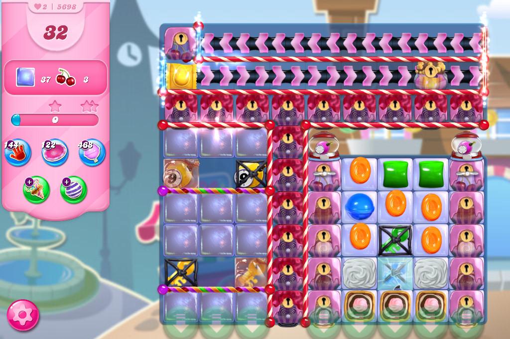 Candy Crush Saga level 5698