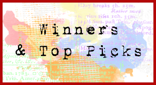 MARCH CHALLENGES & BLOG HOPS WINNERS & TOP PICKS