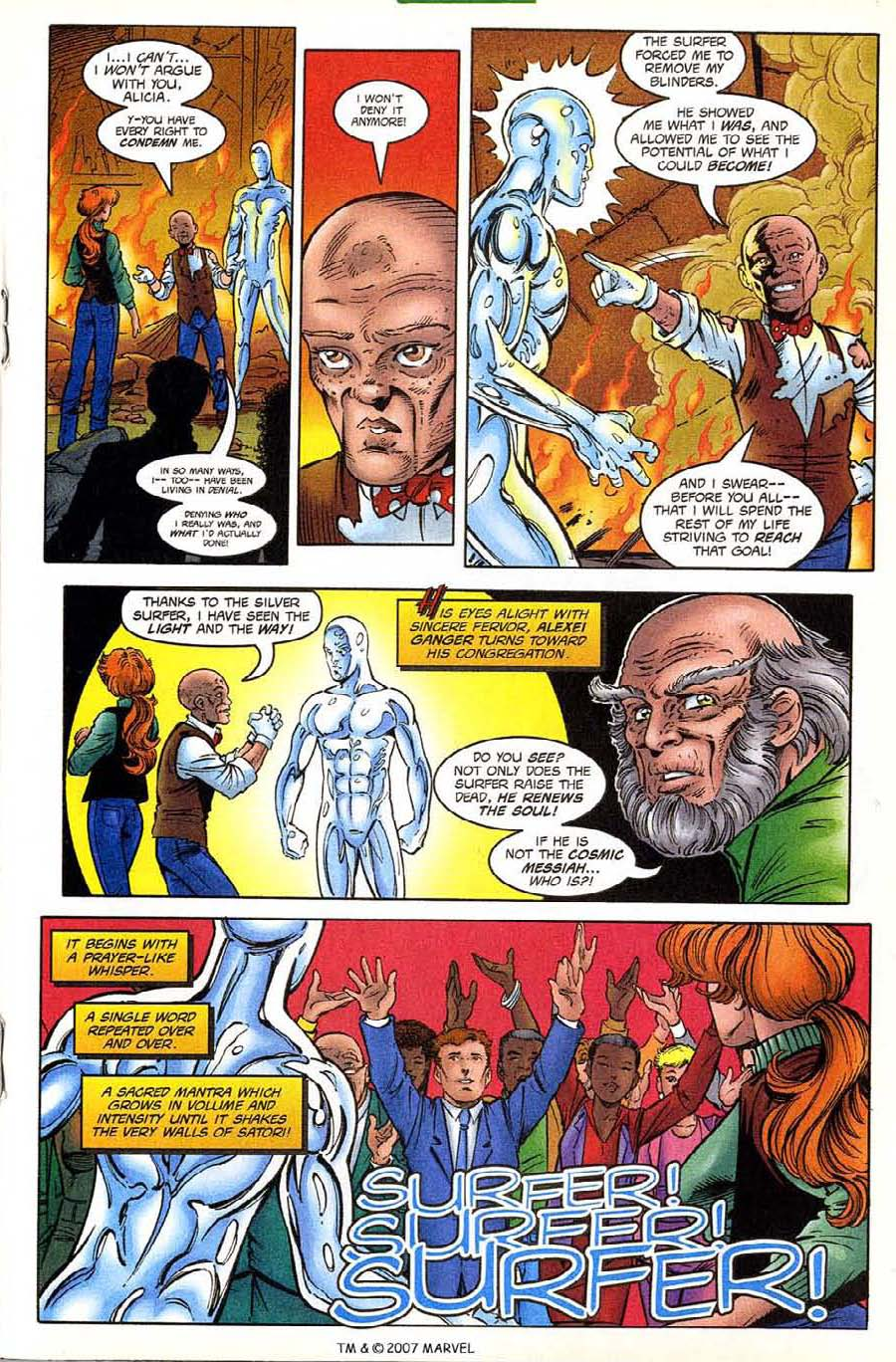 Read online Silver Surfer (1987) comic -  Issue #133 - 21
