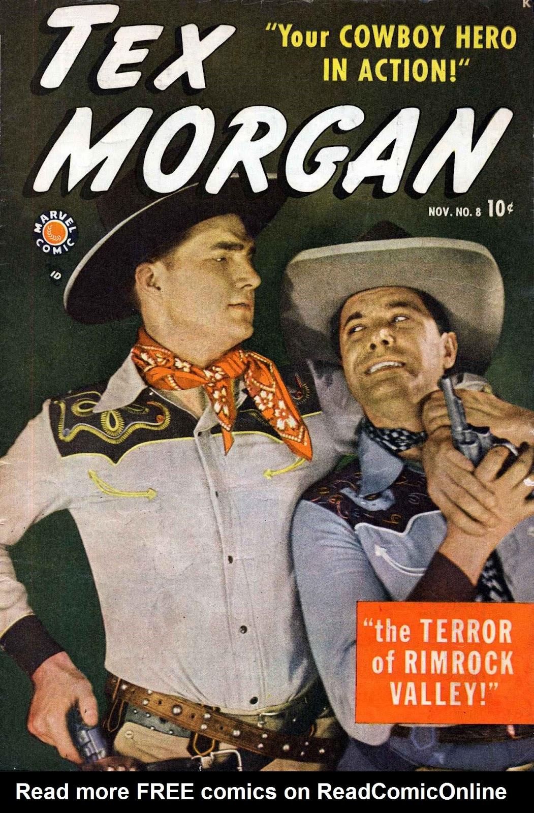 Tex Morgan issue 8 - Page 1