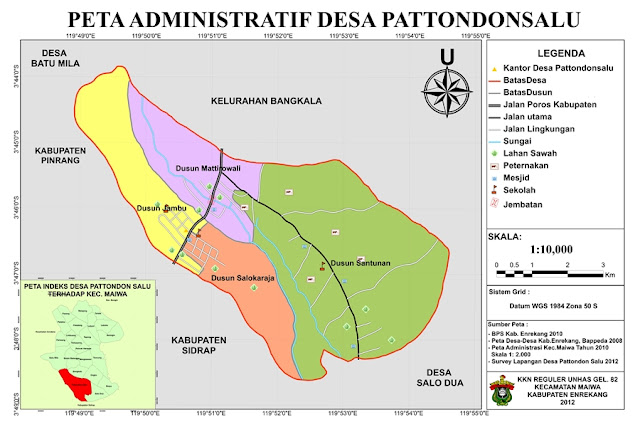 Pojok Timur Nusantara: Desa Pattondonsalu-Enrekang