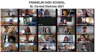 Franklin High School Music Achievements - Central Districts accept 26 students