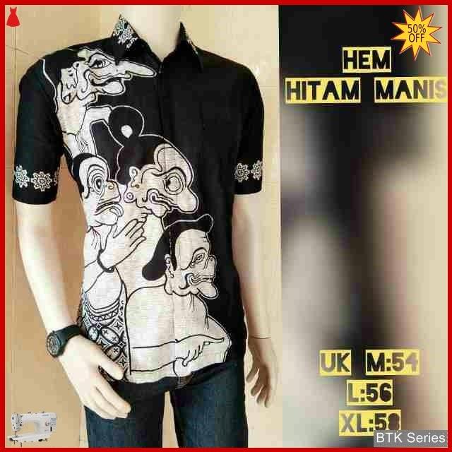 BTK115 Baju Hem Sekawan Modis Murah BMGShop