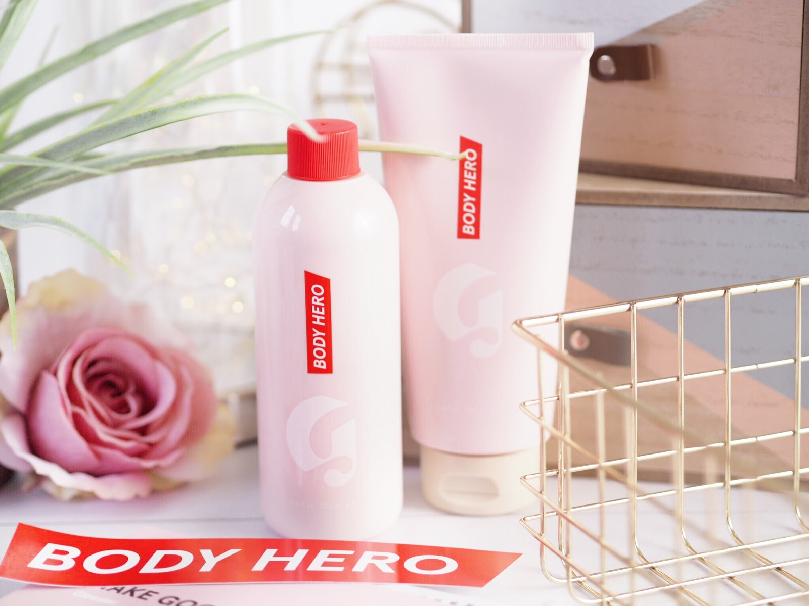 Glossier Body Hero Duo review, body hero, Glossier body lotion, Glossier body cream review