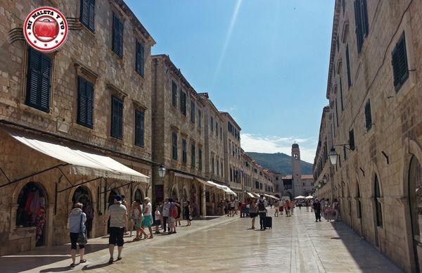 Dubrovnik - Calle Stradun