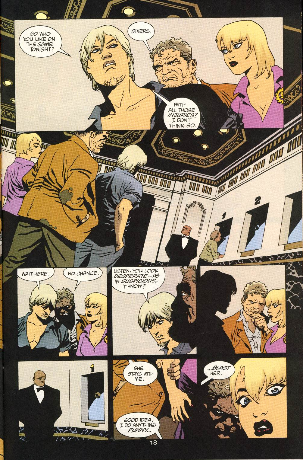 Read online 100 Bullets comic -  Issue #25 - 20