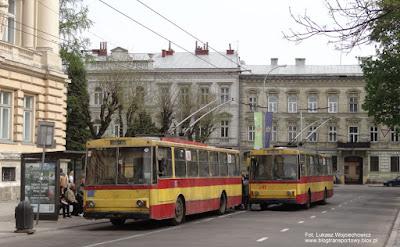 Škody 14Tr #516 i #541, Lwów