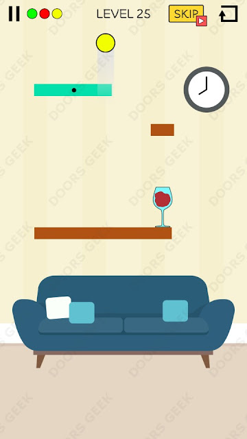 Spill It! Level 25 Walkthrough, Solution, Cheats for Android, iPhone, iPad and iPod