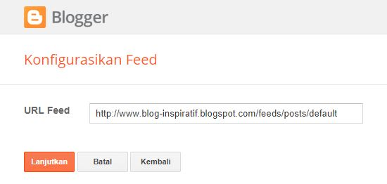 url feed blog inspiratif