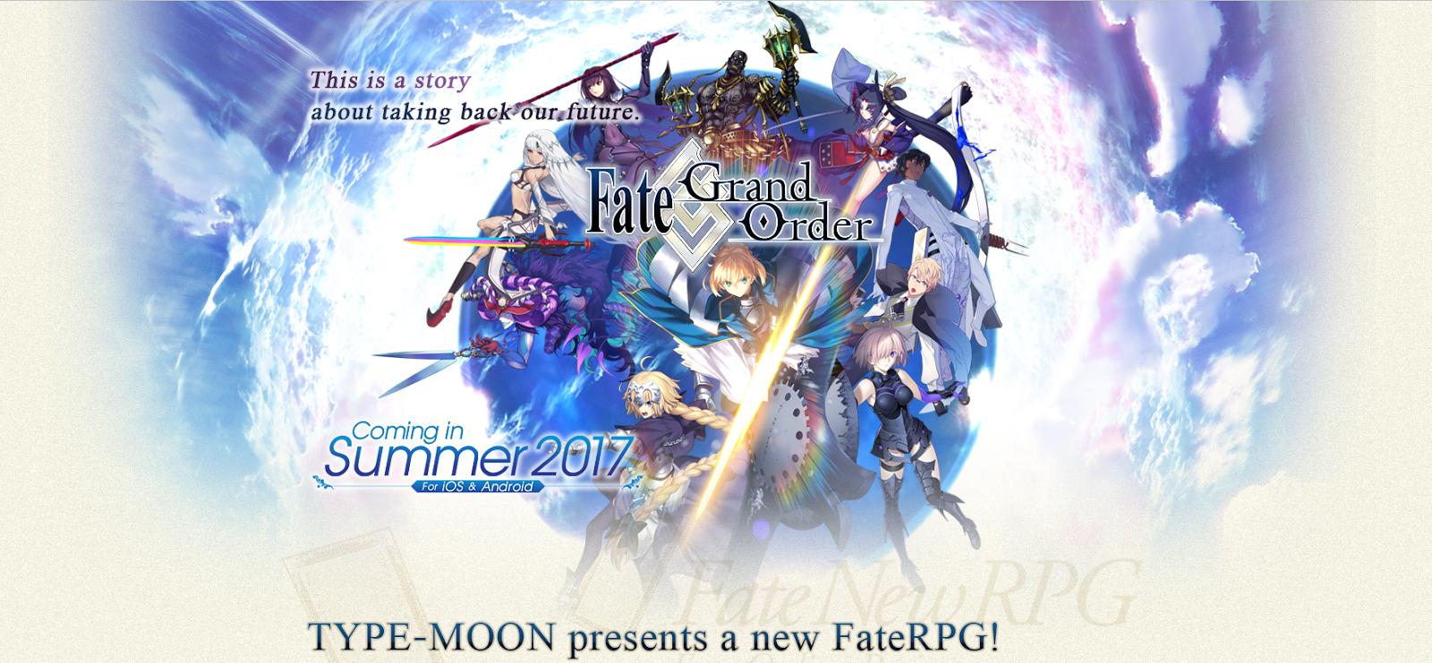 Fate Grand Order - English Server