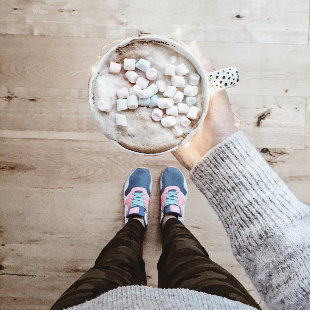 kawa, kawa z piankami, kawa z piankami marshmallow, blog thedailywonders, blog podróżniczy