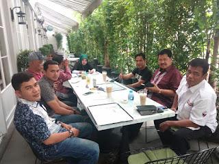 Silaturahmi Pengurus DPP Dan Pembina Bahas PWO IN Bahas Langkah Untuk Kemajuan organisasi