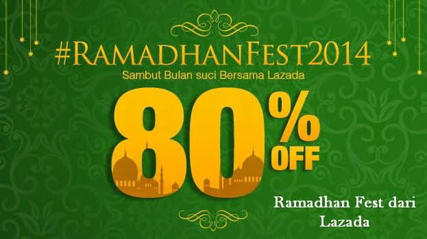 Diskon belanja berbagai barang kebutuhan di bulan Ramadhan