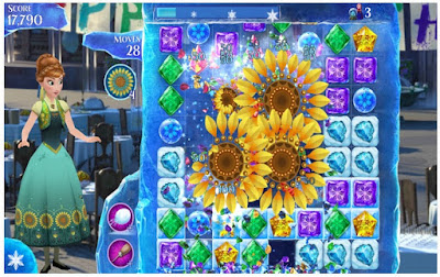 Frozen Free Fall V4.1.1 Apk (Mod Infinite Life)