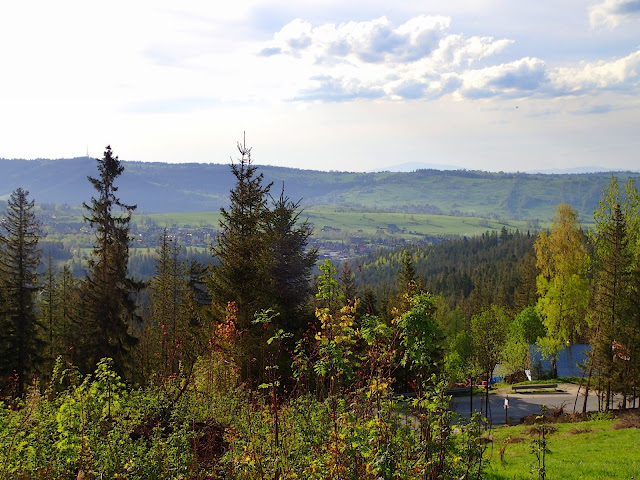 Widoki z Cyrhli (na m.in. Gubałówkę)