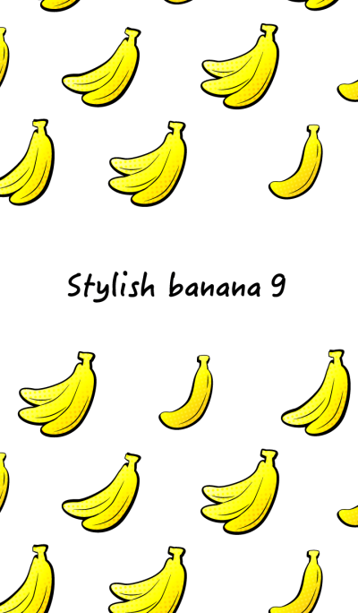 Stylish banana 9