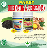 Paket Herbal Obat Rematik Reumatik Persendian Otot Kaku Pegal Linu Sendi Bengkak De Nature