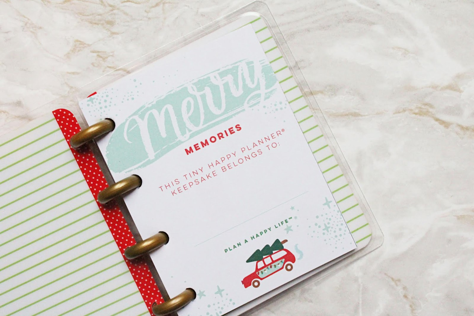 The Happy Planner Christmas Keepsake